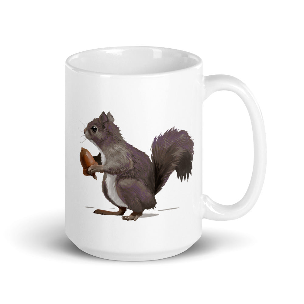 Squirrel (Mousy Brown) - Mug