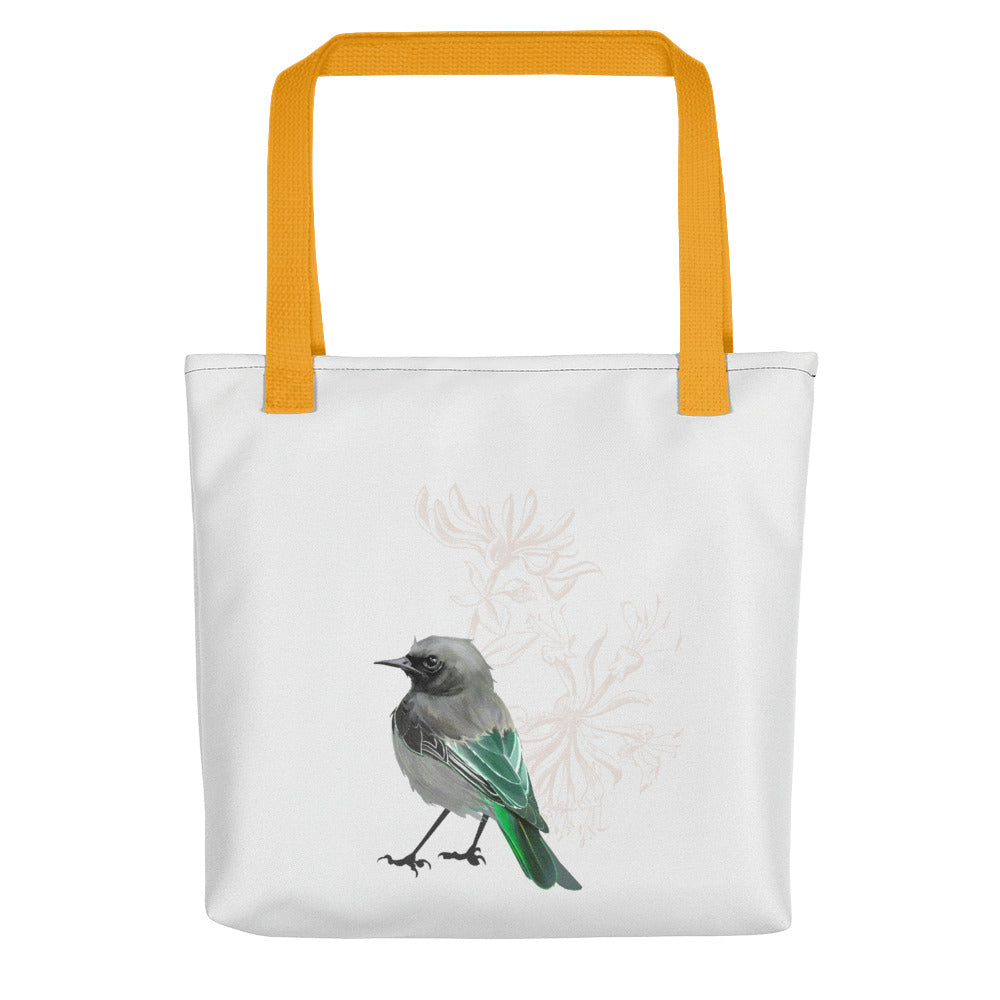 Junco Green Bird - Tote Bag