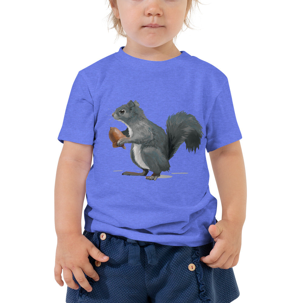 Squirrel (Ashley Gray) - Toddler Short Sleeve Tee