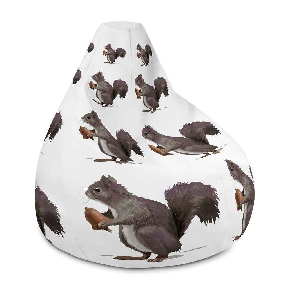 Squirrel (Mousy Brown) - Bean Bag Chair Cover