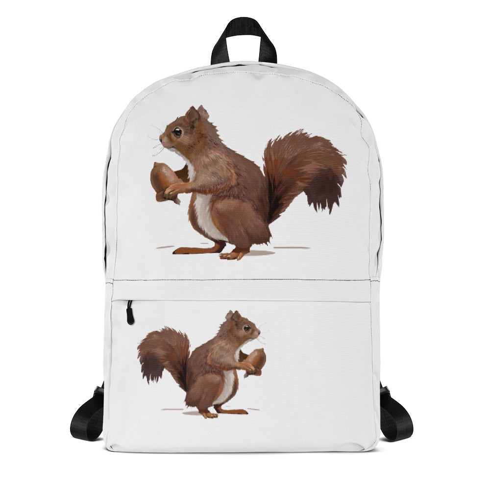 Squirrel (Brown) - Backpack