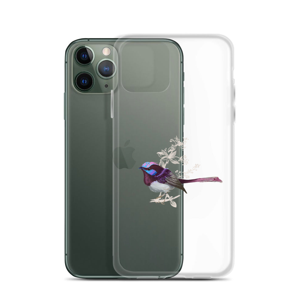 Forest Wren Pink Bird - iPhone Case