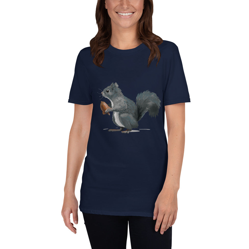 Squirrel (Ashley Gray) - Short-Sleeve Unisex T-Shirt