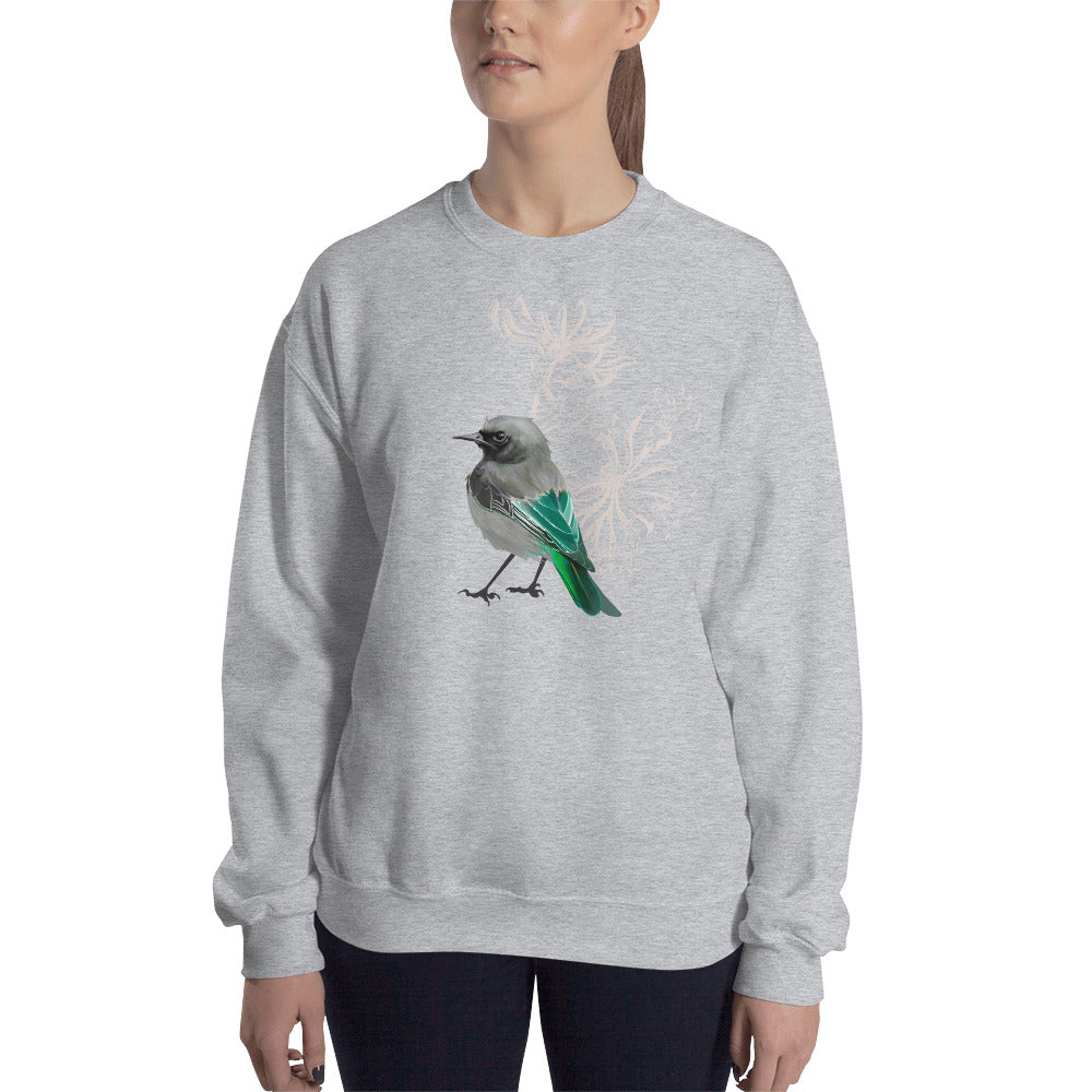 Junco Green Bird - Unisex Sweatshirt