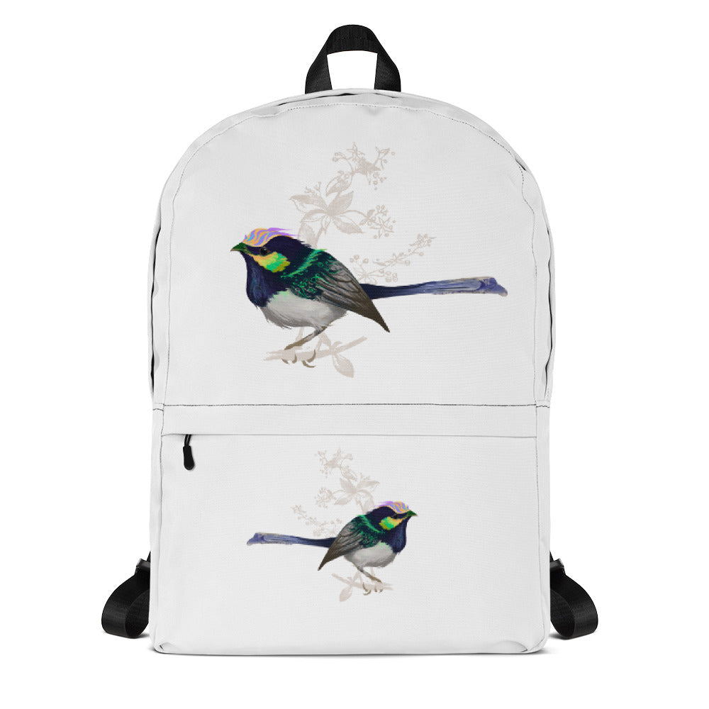 Forest Wren Green Bird - Backpack