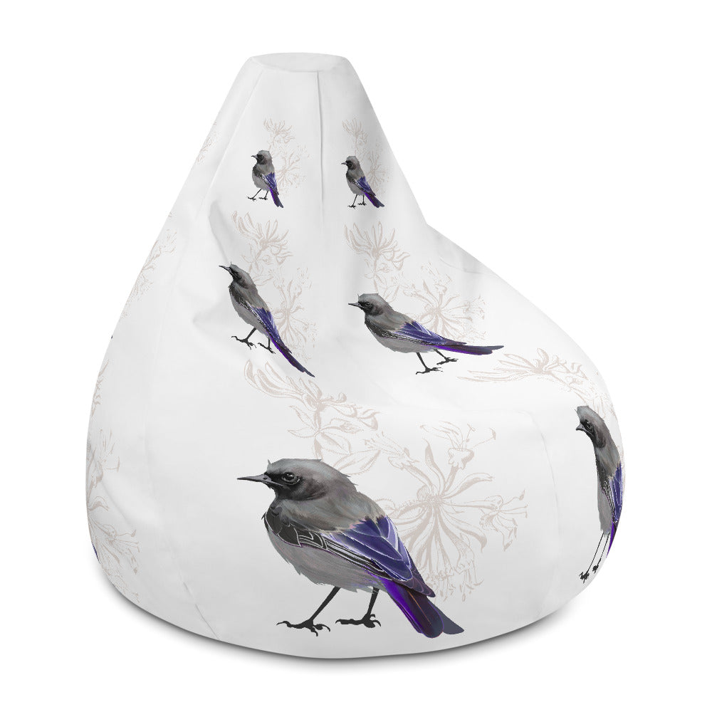 Junco Violet Bird - Bean Bag Chair Cover