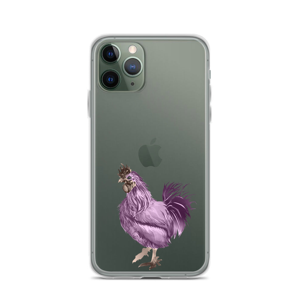 Rooster Strut (Pink) - iPhone Case