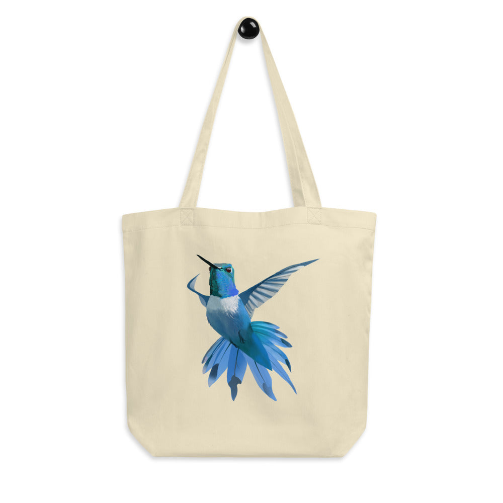 Hummingbird Blue - Eco Tote Bag