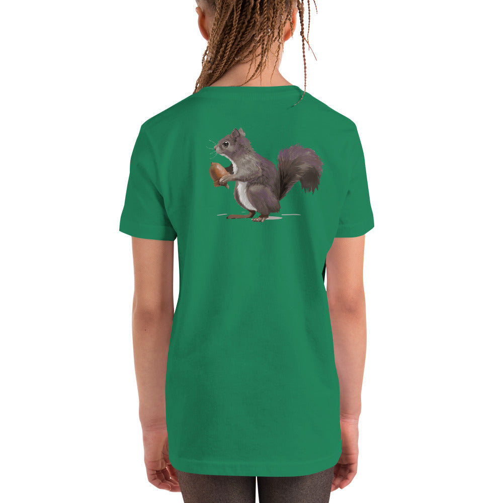 Squirrel (Mousy Brown) - Youth Short Sleeve T-Shirt