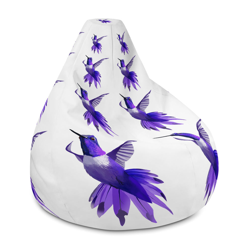 Hummingbird Violet - Bean Bag Chair w/ filling