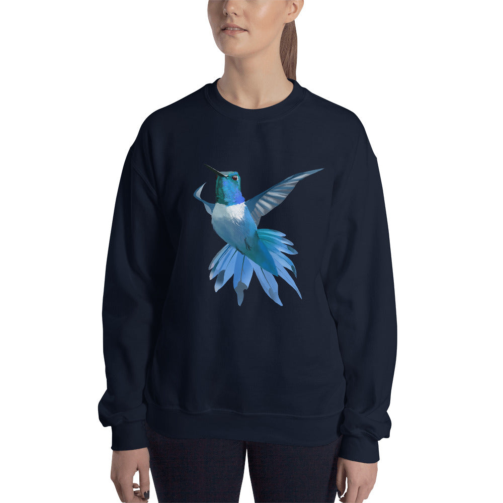 Hummingbird Blue - Unisex Sweatshirt