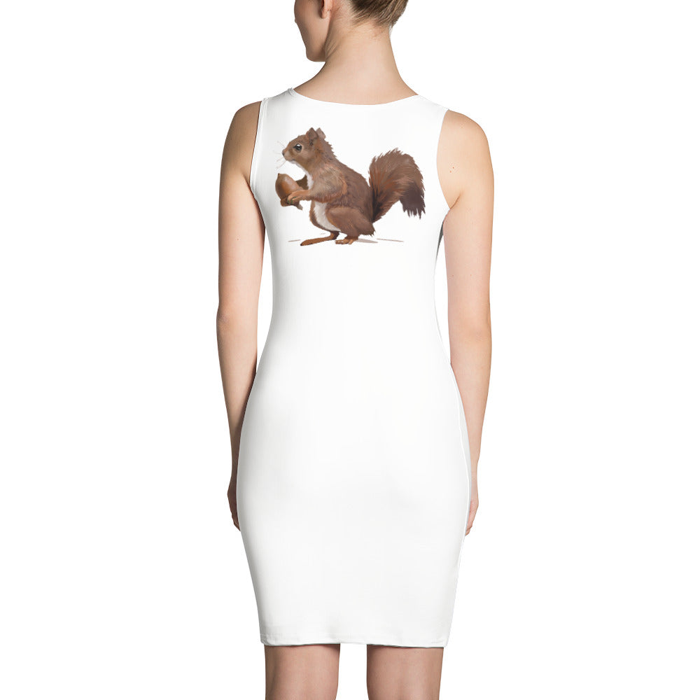 Squirrel (Brown) - Sublimation Cut & Sew Dress