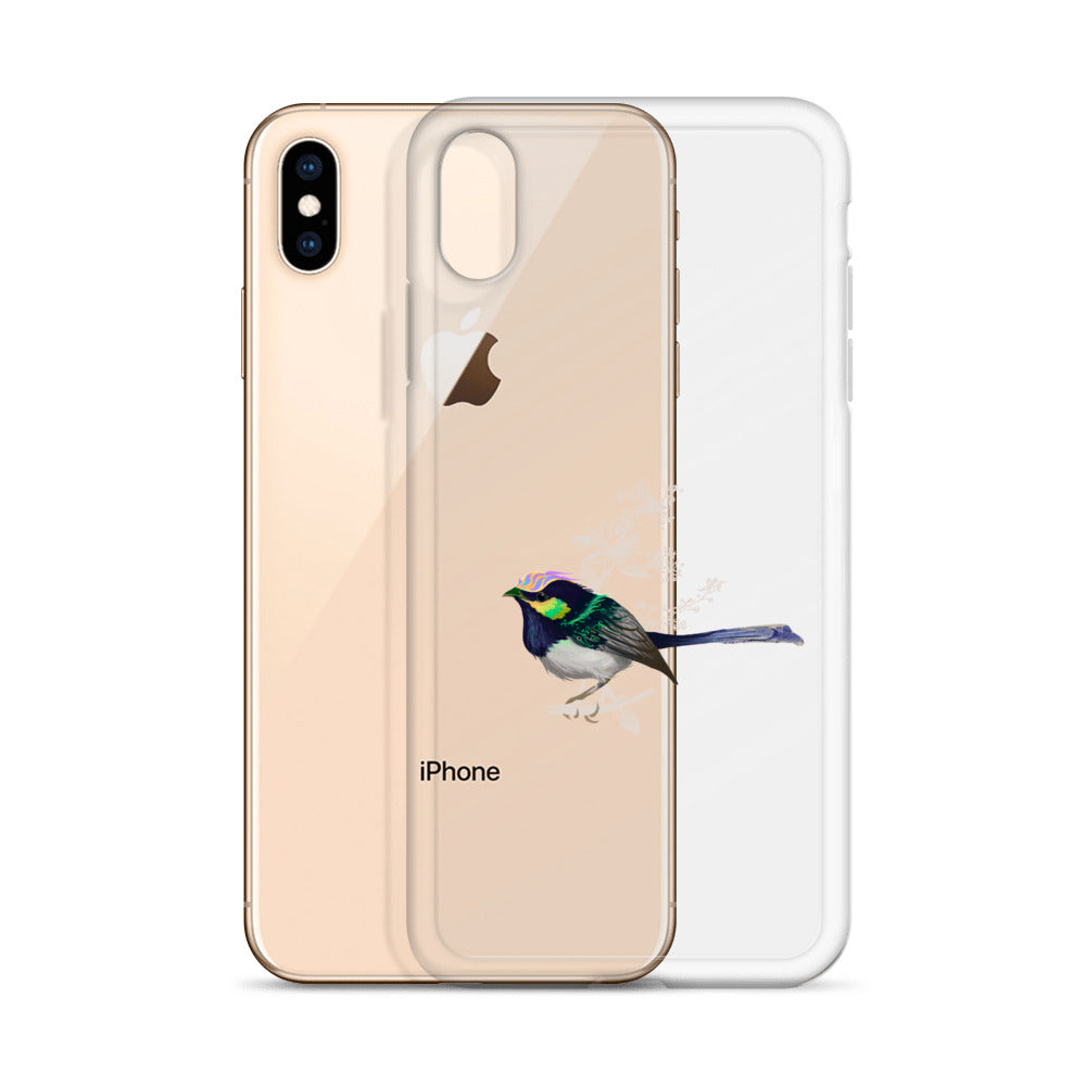 Forest Wren Green Bird - iPhone Case