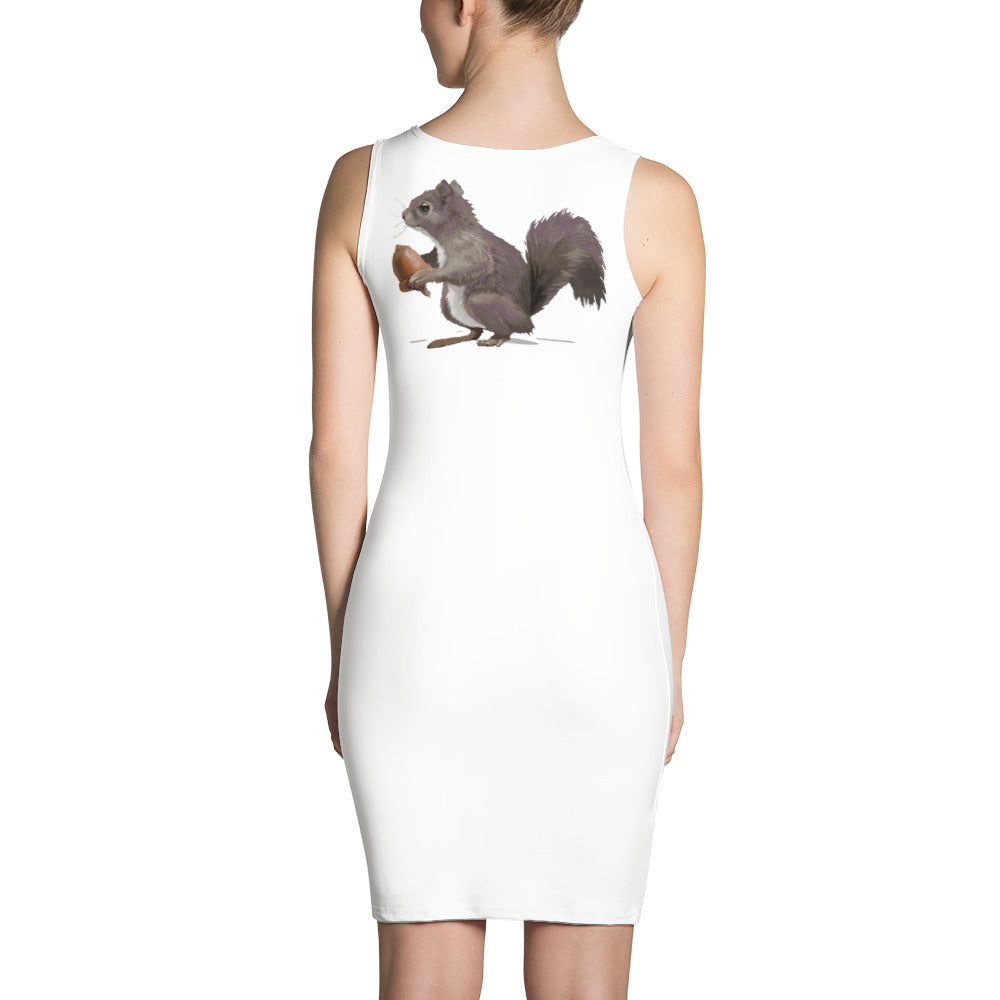 Squirrel (Mousy Brown) - Sublimation Cut & Sew Dress