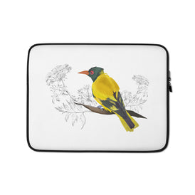 Black Hooded Oriole - Laptop Sleeve