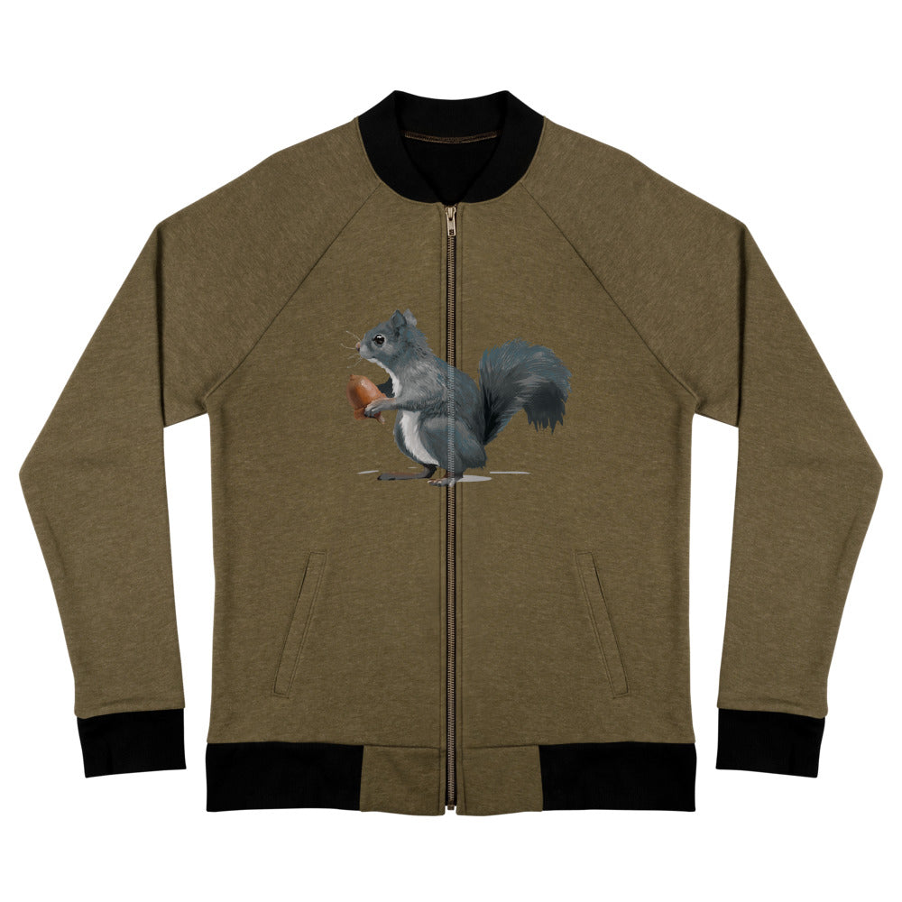 Squirrel (Ashley Gray) - Bomber Jacket