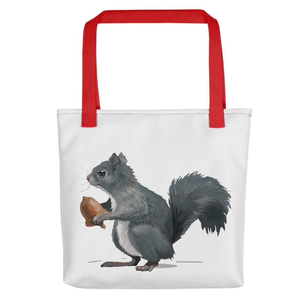 Squirrel (Ashley Gray) - Tote Bag