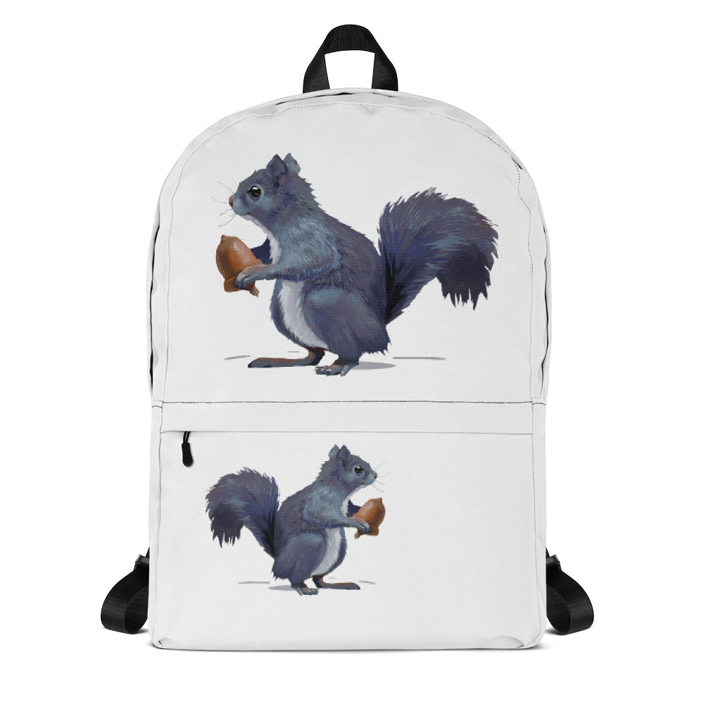 Squirrel (Gray) - Backpack