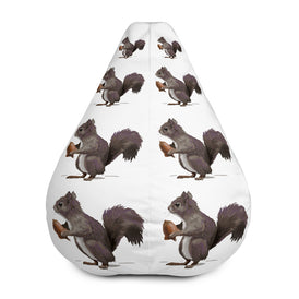 Squirrel (Mousy Brown) - Bean Bag Chair w/ filling