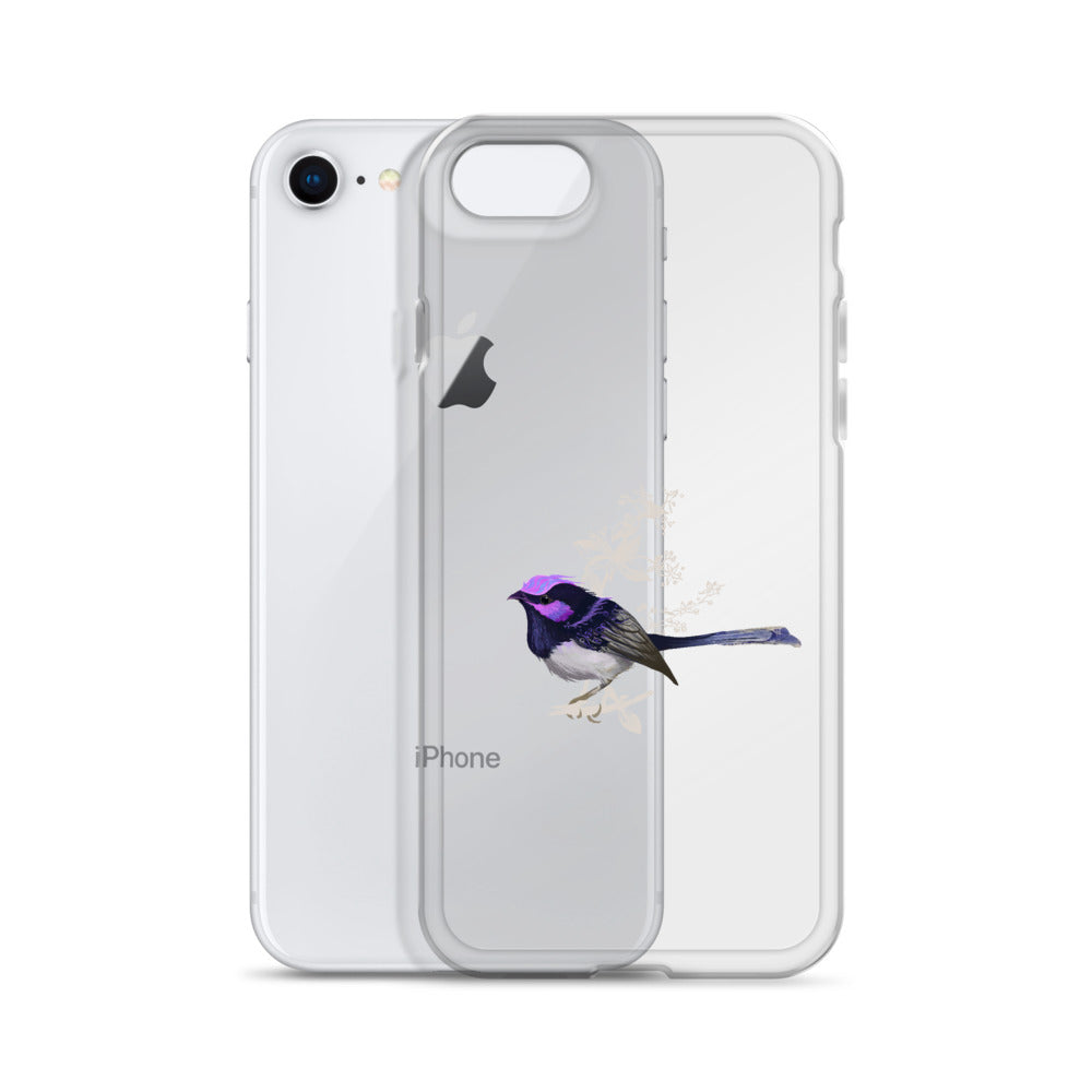 Forest Wren Magenta Bird - iPhone Case