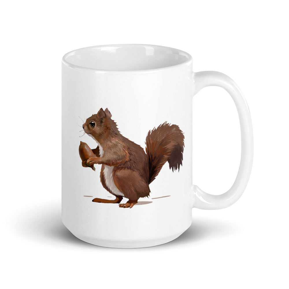 Squirrel (Brown) - Mug