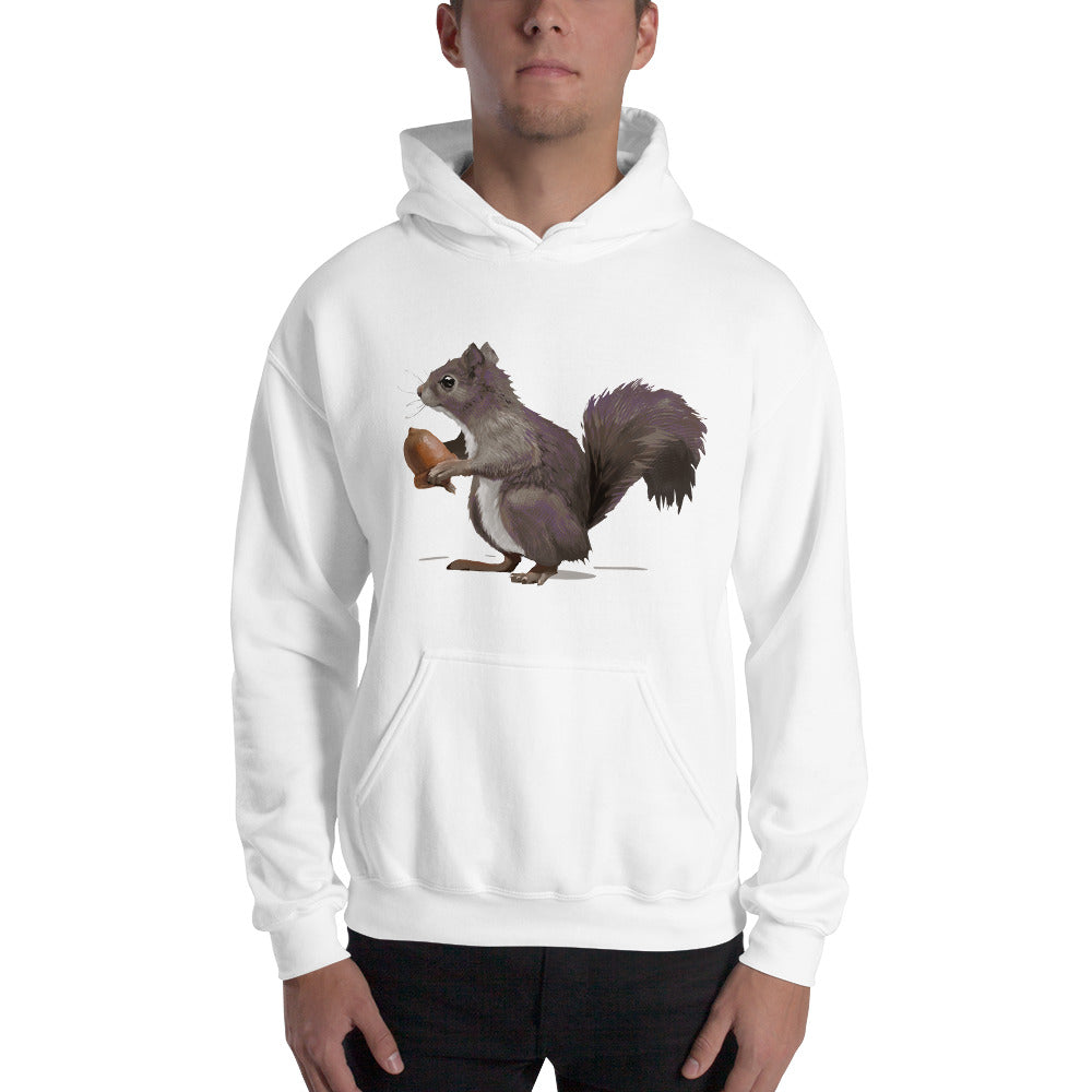 Squirrel (Mousy Brown) - Unisex Hoodie