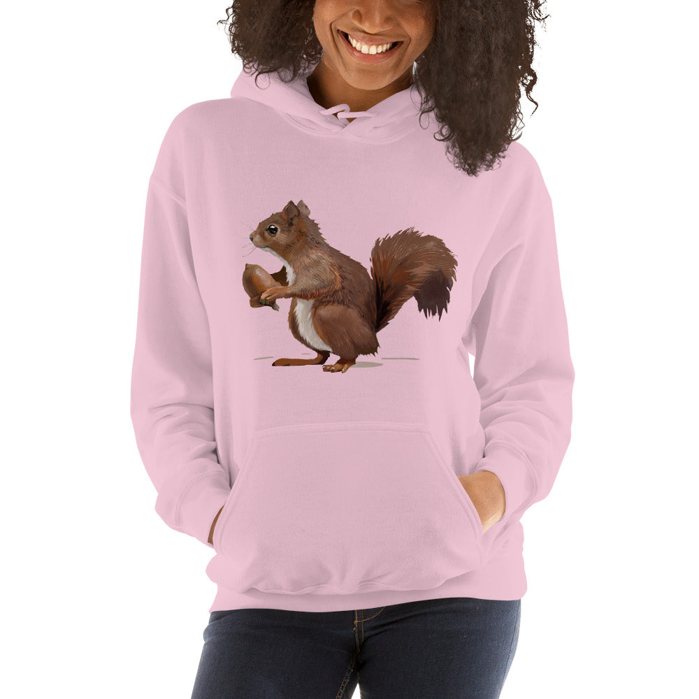Squirrel (Brown) - Unisex Hoodie