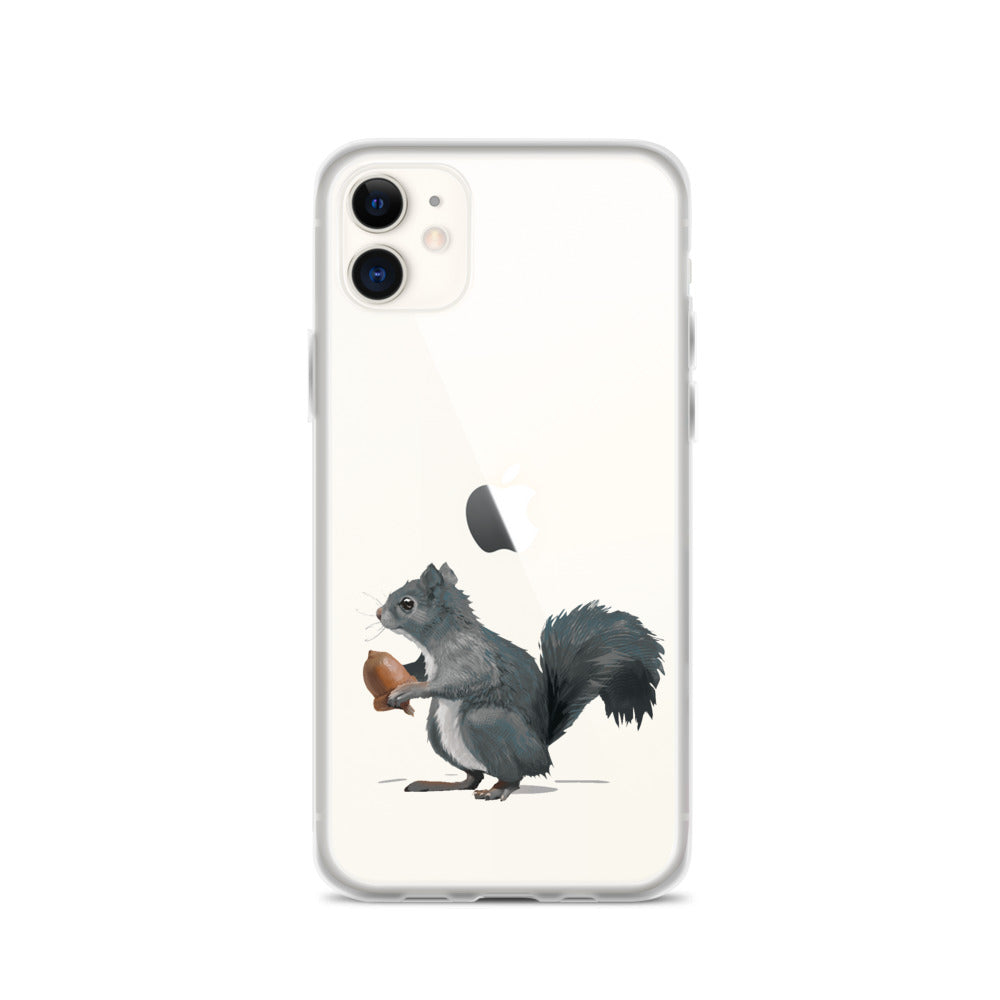 Squirrel (Ashley Gray) - iPhone Case