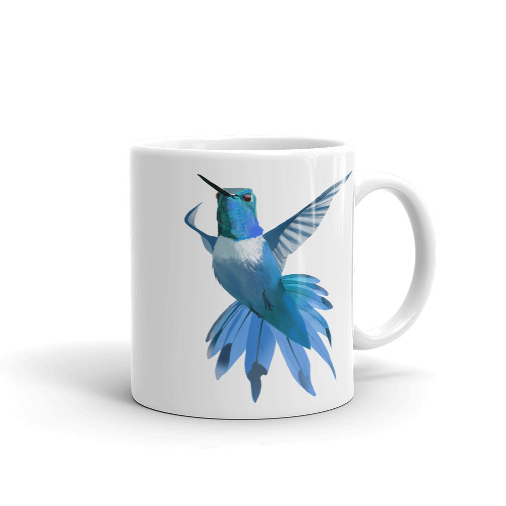 Hummingbird Blue - Mug