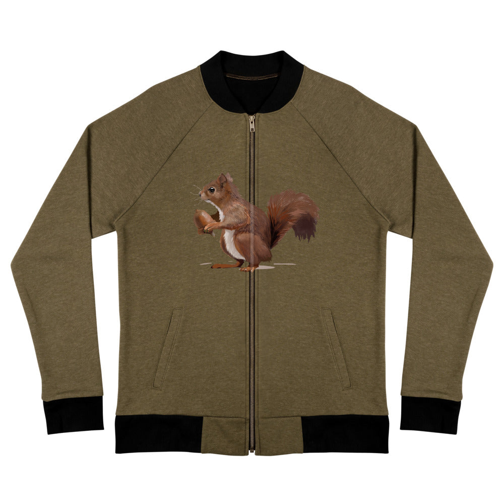 Squirrel (Brown) - Bomber Jacket