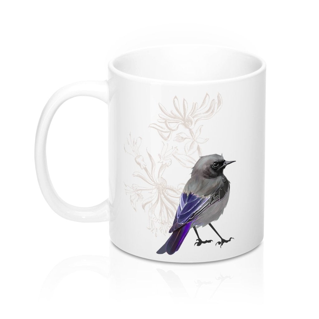 Grumpy Junco Bird - 11oz Mug