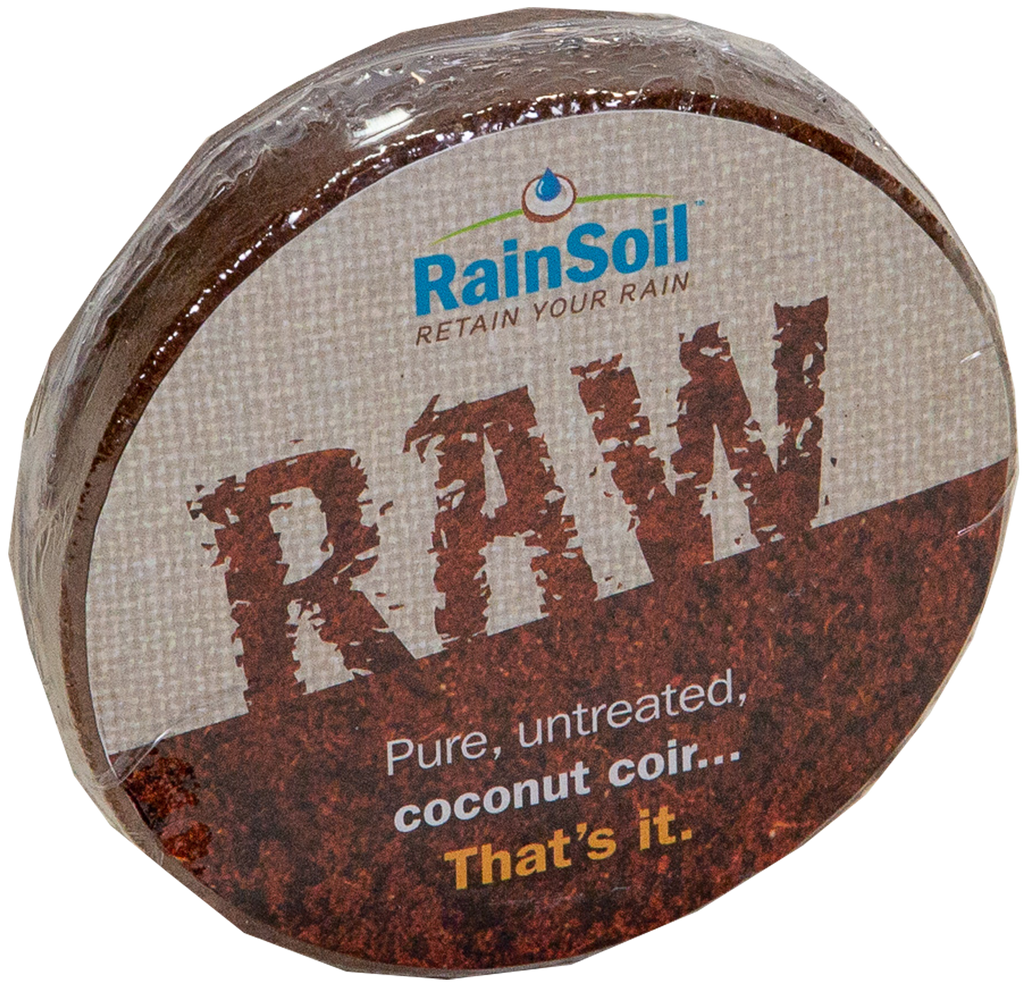 Raw - Compressed Coconut Coir growing media