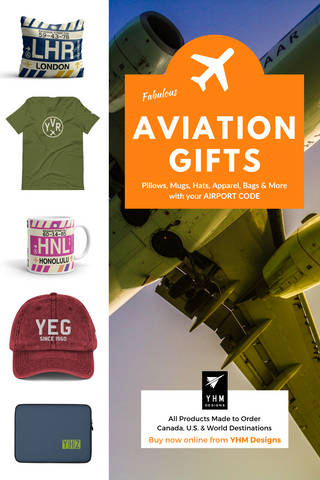 Aviation Gifts - Pillows, Mugs, Hats, Bags and More - YHM Designs