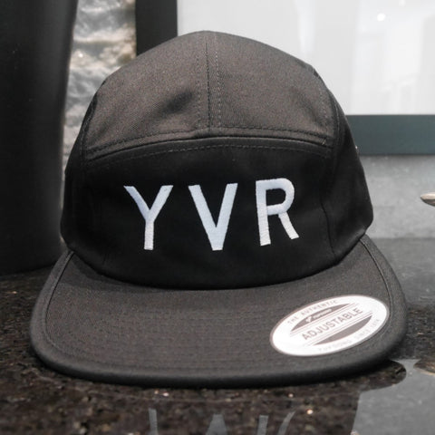 YVR Vancouver Airport Code Camper Hat - City-Themed Gear - YHM Designs