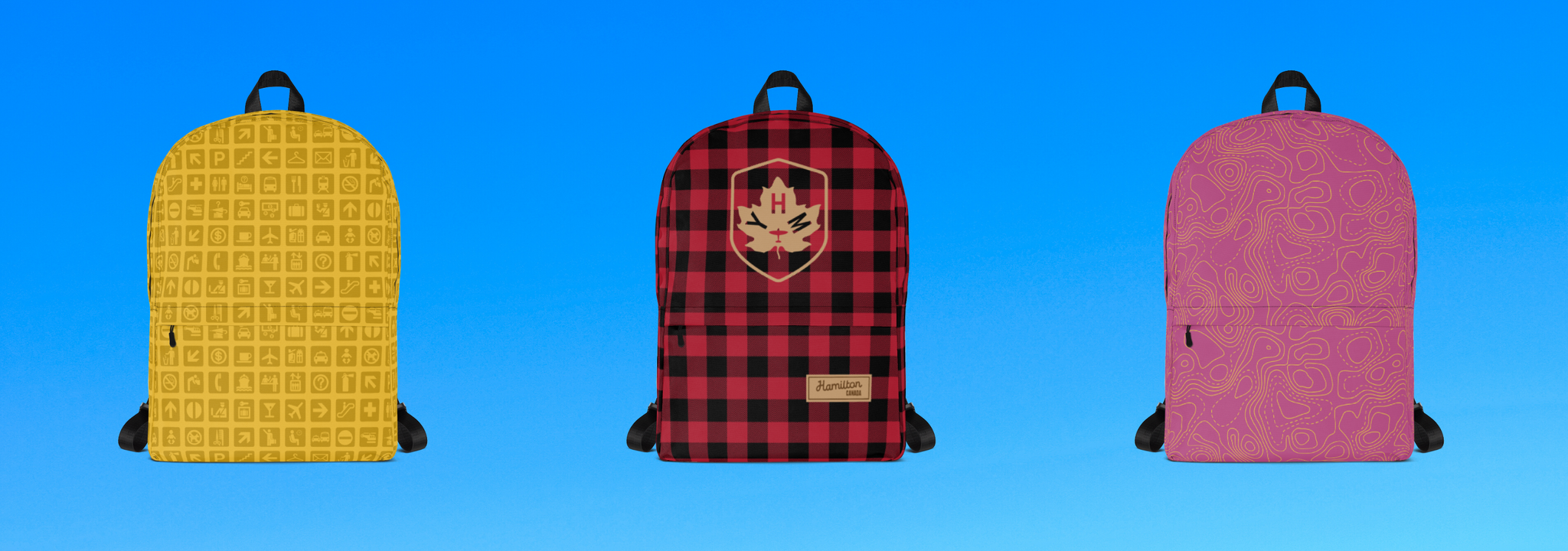 YHM Designs Banner - Backpacks