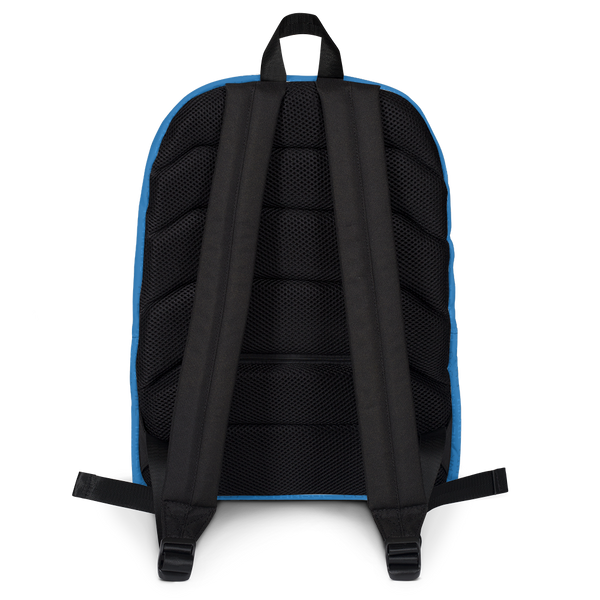 "YHM Designs  •  World Airport Codes 15.6"" Laptop Backpack • Blue 4"