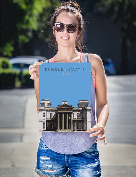 "YHM Designs - Dundurn Castle Poster 12""x16"" 2"