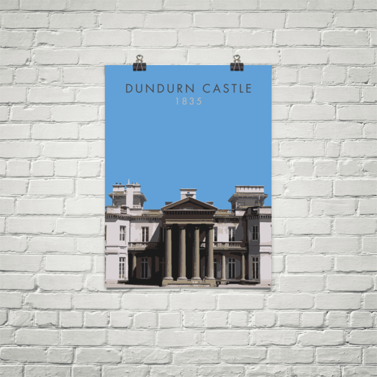 "YHM Designs - Dundurn Castle Poster 18""x24"" 1"