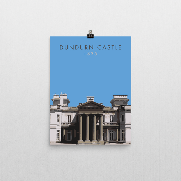 "YHM Designs - Dundurn Castle Poster 12""x16"" 1"