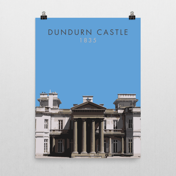 "YHM Designs - Dundurn Castle Poster 8""x10"" 1"