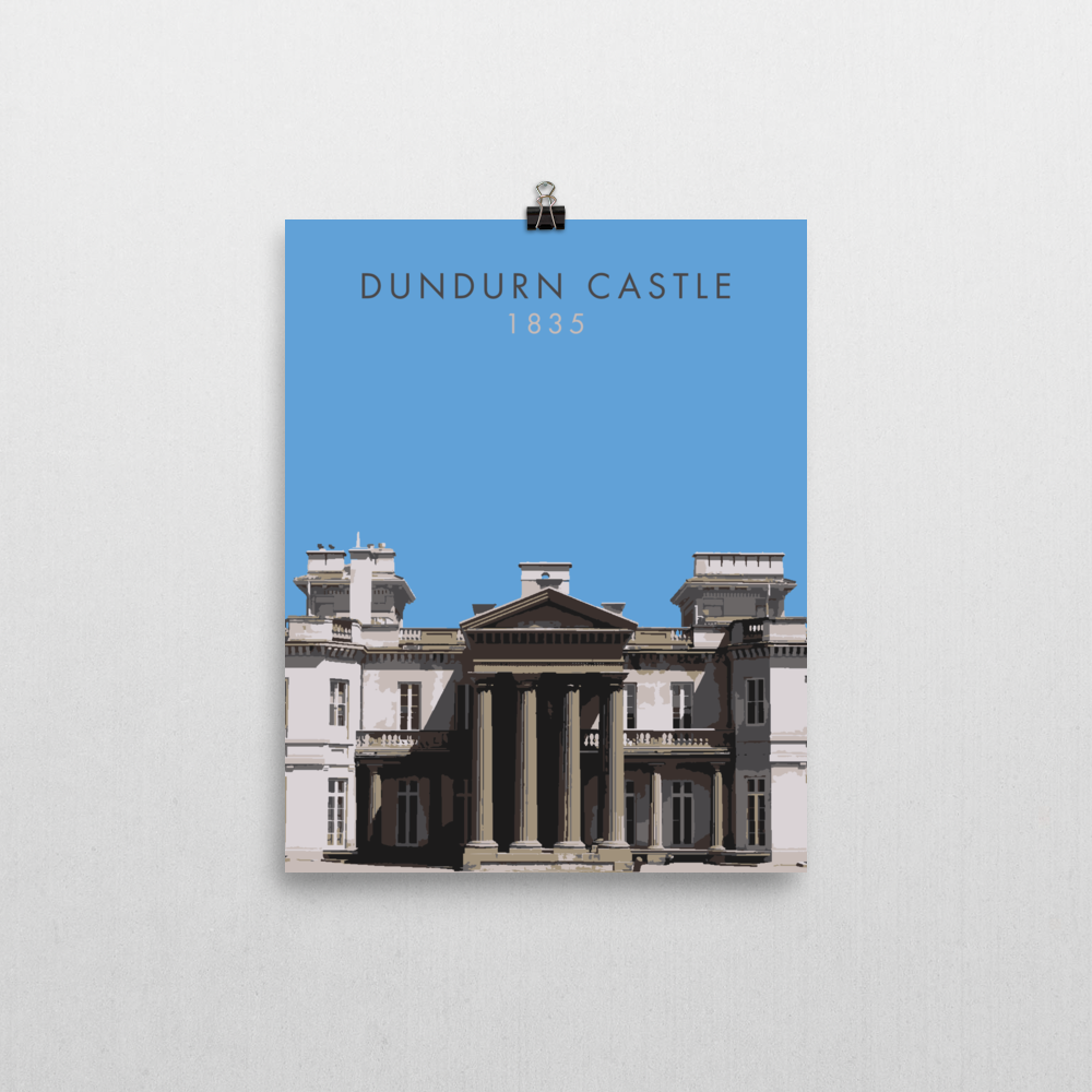 "YHM Designs - Dundurn Castle Poster 18""x24"" 2"