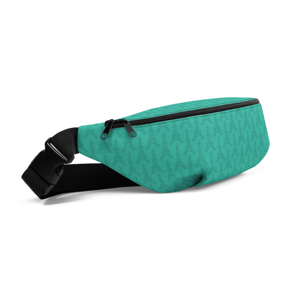 YHM Designs  •  Eiffel Tower Fanny Pack • Turquoise 1