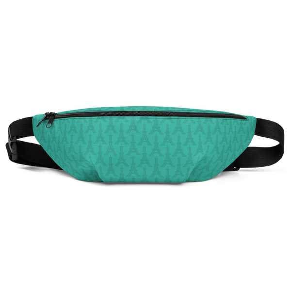YHM Designs  •  Eiffel Tower Fanny Pack • Turquoise 2