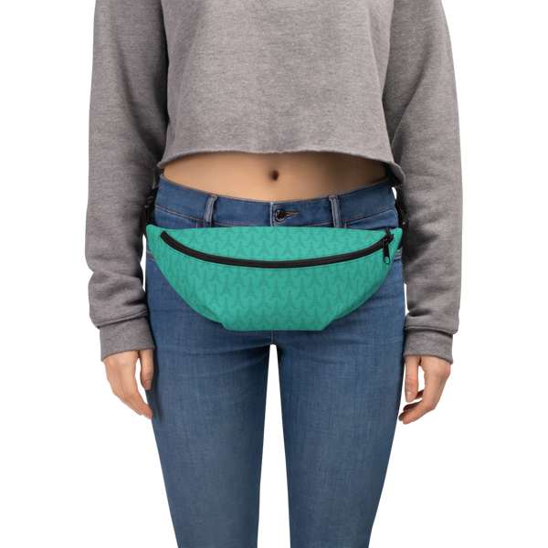 YHM Designs  •  Eiffel Tower Fanny Pack • Turquoise 6