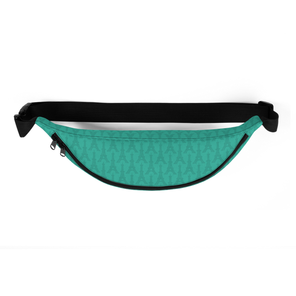 YHM Designs  •  Eiffel Tower Fanny Pack • Turquoise 3