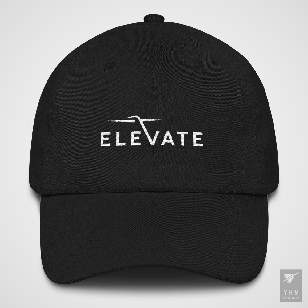 Elevate Embroidered Baseball Hat