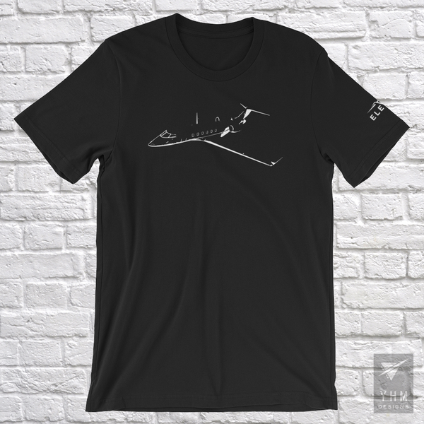 Elevate Business Jet T-Shirt - City-Themed Products - YHM Designs