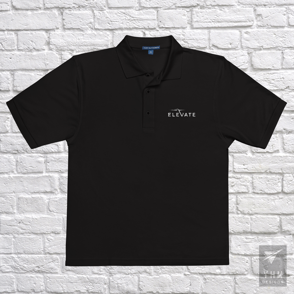 Elevate Premium Polo Shirt - City-Themed Products - YHM Designs