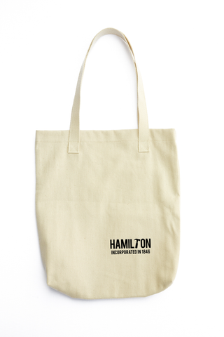 YHM Designs - Hamilton Incorporated in 1846 Tote