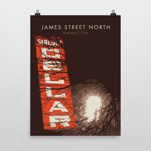 "YHM Designs - James Street North Sirloin Cellar Poster 18""x24"" 2"